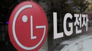 corporate logo of LG Electronics