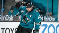 Emotional Patrick Marleau Embraces Breaking Gordie Howe's Record