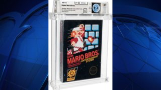 An unopened copy of Nintendo's Super Mario Bros. that was bought in 1986 and then forgotten about in a desk drawer has sold at auction for $660,000.