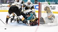 Golden Knights Finish Regular Season With 6-0 Win Vs. Sharks