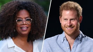 """Oprah announced a new Apple TV+ collaboration with Prince Harry on mental health titled """"The Me You Can't See."""""""