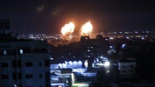 Israeli airstrikes target Gaza sites