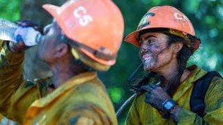 California Wildfires Little Tujunga Hot Shots