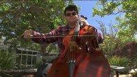 "UC Santa Cruz's ""Cello Guy"" Gives Farewell Tour To College, Pandemic"