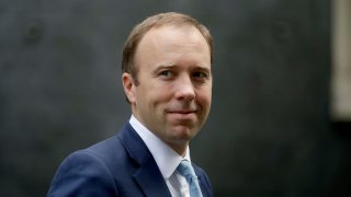 British Health Secretary Matt Hancock