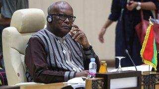 Burkina Faso President Roch Marc Christian Kabore