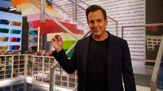 """Will Arnett in the """"LEGO Day Parade"""" Season Two premiere episode of """"Lego Masters."""""""
