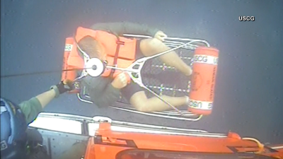 WATCH: Boaters Rescued East of Atlantic City