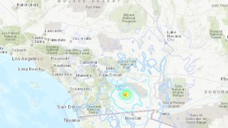 Map of Earthquake in Calipatria, CA