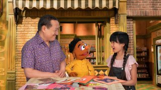 """New videos with """"Sesame Street"""" Muppet friends include """"Proud of Your Eyes,"""" in which Wes and Alan help their friend Analyn, who is Filipino American, process big feelings after she was teased about her eyes."""