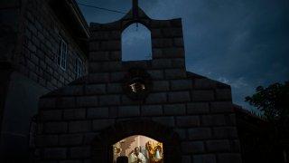 APTOPIX Honduras The Friar's Gambit