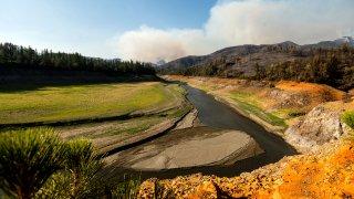 California Wildfires Salt Fire