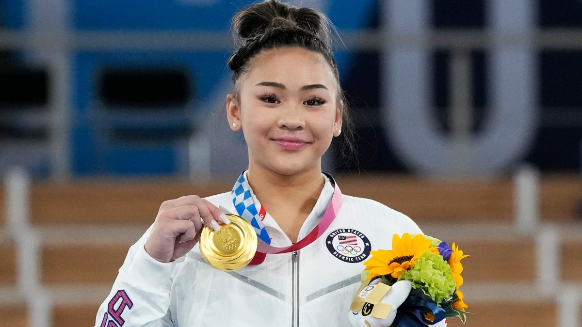 www.nbcbayarea.com: Suni Lee's Gold in All-Around Inspires Bay Area Gymnasts