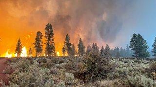 bootleg fire wildfire oregon