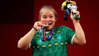 Turkmenistan's Polina Guryeva takes home silver