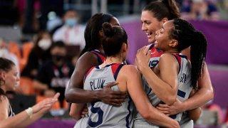 U.S. 3x3 women's basketball team