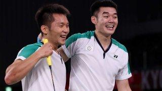 Lee Yang and Wang Chi-Lin