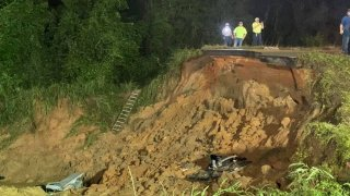 Mississippi highway collapses