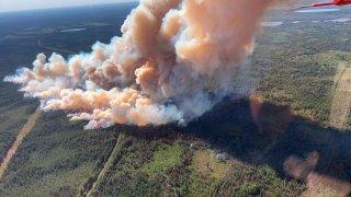 Wildfires Minnesota