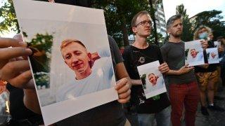 Vitaly Shishov vigil