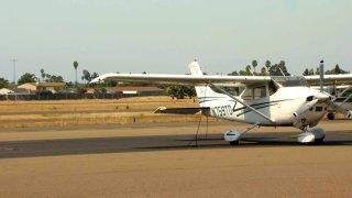 Reid-Hillview Airport in San Jose.