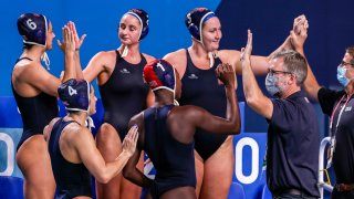 Team USA in women's water polo