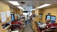 Dozens Show Up to Donate Blood at Annual Bay Area Proud Drive