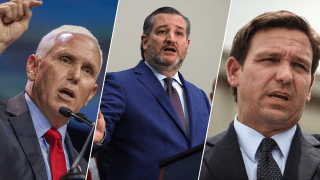 Mike Pence, Ted Cruz, Ron DeSantis