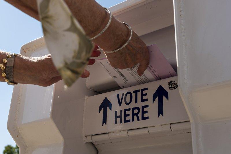 PHOTOS: Californians Cast Their Votes in Recall Election