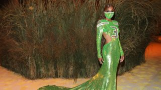 Ciara attends the The 2021 Met Gala