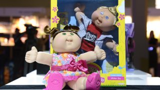A Cabbage Patch Kids doll