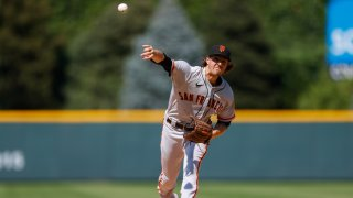 Starting pitcher Kevin Gausman #34 of the San Francisco Giants.