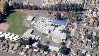 Esperanza Elementary School and Korematsu Discovery Academy in Oakland.