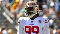 Javon Kinlaw's Lingering Knee Injury Is 'a Big Concern' for 49ers