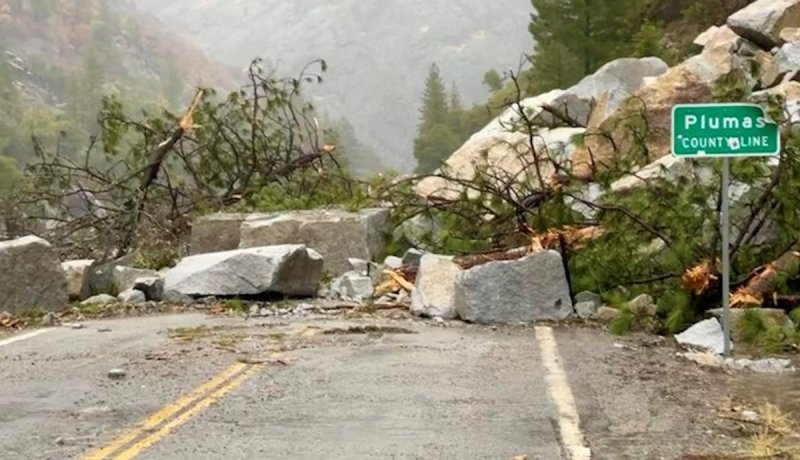 Photos: October Storm Lashes California