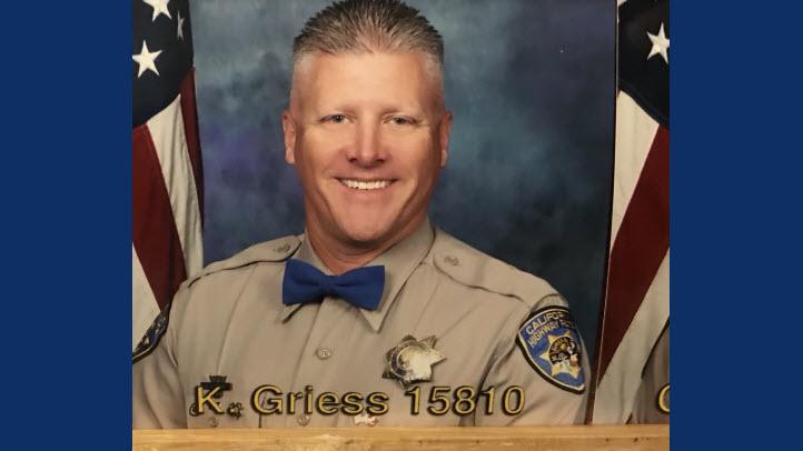 Memorial Service for Fallen CHP Officer Kirk Griess