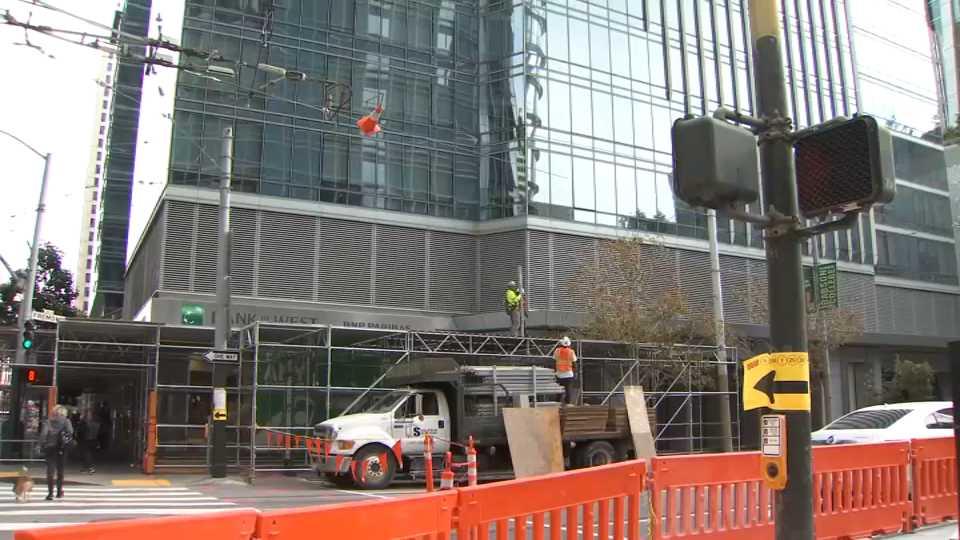 Millennium Tower Removing Scaffolding Despite City Order