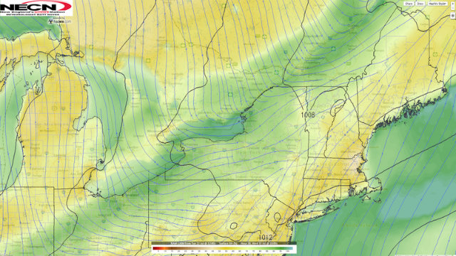 Dewpoint Vs Relative Humidity NECN - Humidity map of us