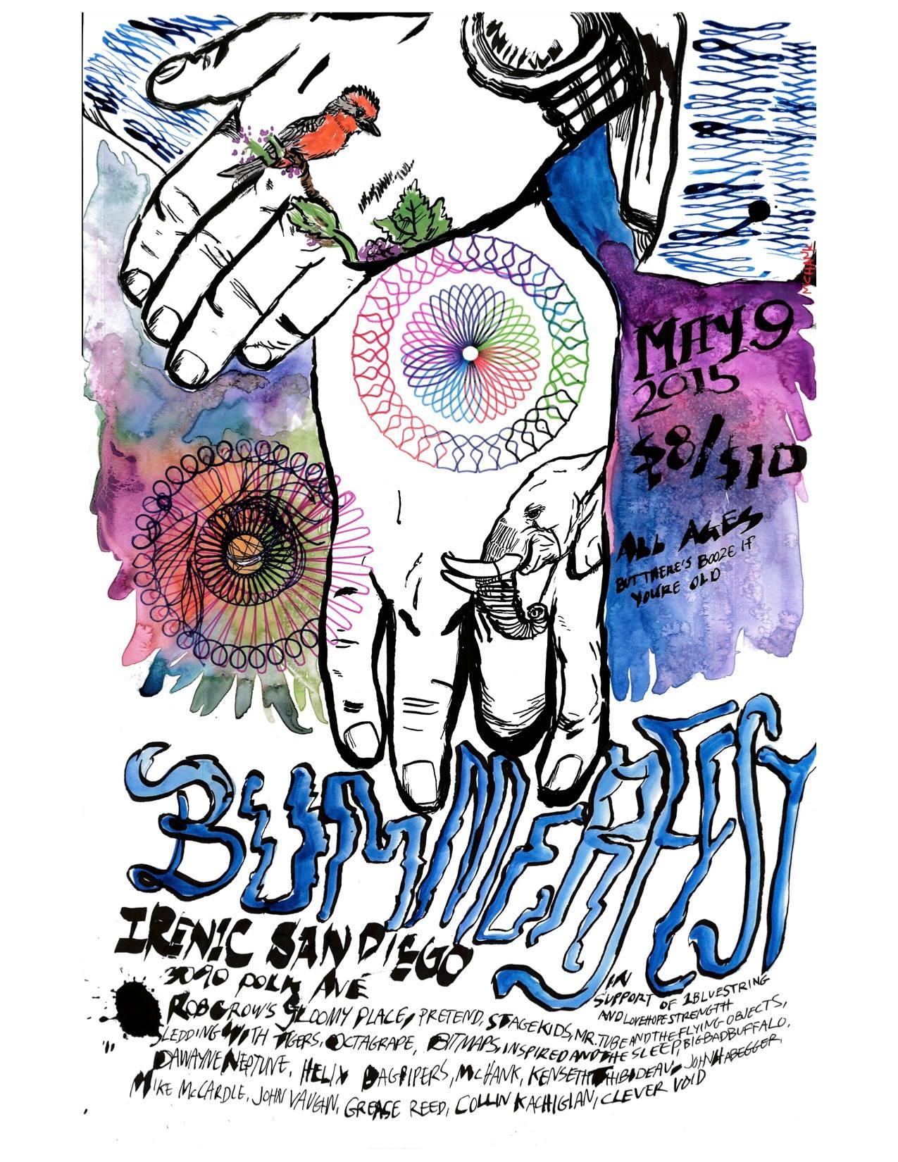 Bummerfest poster by McHank
