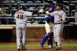 Images: Giants Take Double Header vs Mets