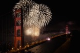 Golden Gate Bridge 75th Fireworks