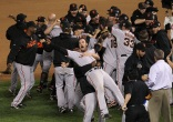 Giants Celebrate World Series Victory