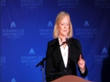 Raw Video: Meg Whitman in the Spin Room