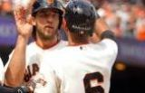 Giants Top D'backs With Pair of Grand Slams