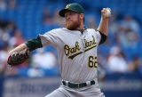 Landlord Says A's Pitcher's Dog Needs Resume for Apartment