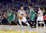 Klay, Curry Put Celtics Away at Oracle
