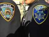 Bay Area Police Attend Funeral for Fallen NYPD Officer