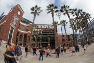 Fans Comes Out Early for Giants Home Opener at AT&T Park