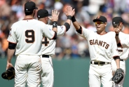 Giants Sweep Angels