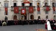 Italy Pope Holiday Season